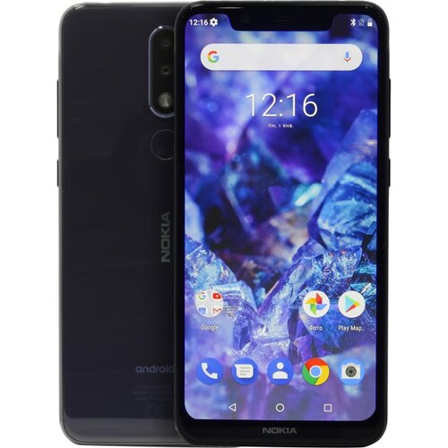 Смартфон Nokia 5.1 PLUS Blue (TA-1105)